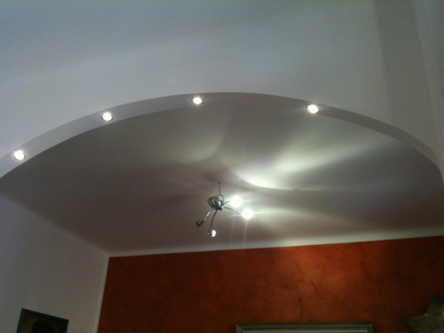 arco dentro casa moderno : Foto: Arco In Cartongesso di Modern Constructions Srl #171683 ...