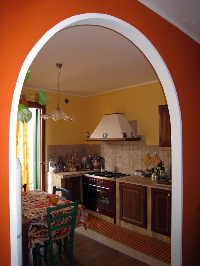 Foto arco in cartongesso di bioarchitetture 80706 habitissimo - Cucina con arco ...