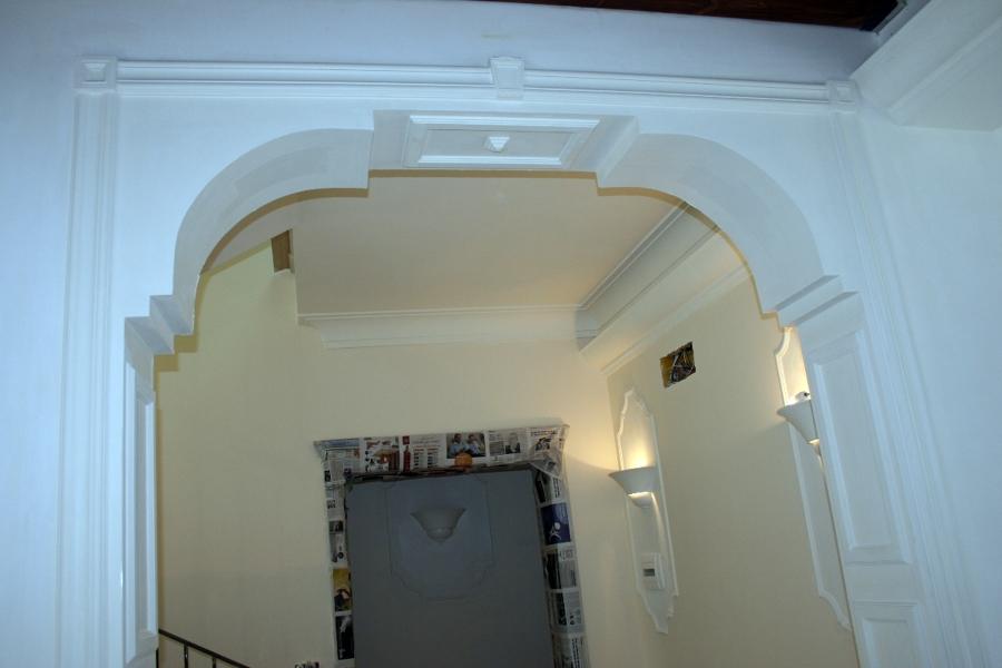 Foto arco in gesso di edil finiture colori 49611 - Archi in gesso per interni ...