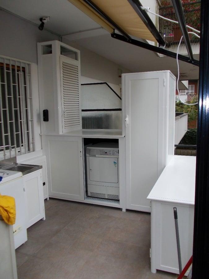 Foto armadi da esterno di dama serramenti 88019 for Armadio alluminio esterno