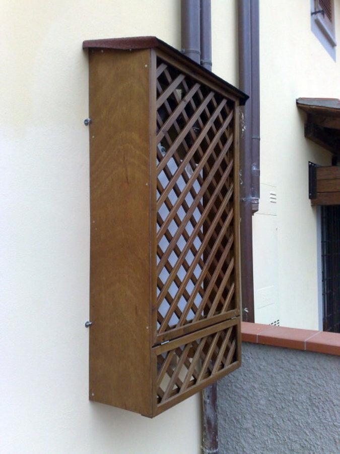 Foto armadietto copri caldaia di 3emme 103168 habitissimo - Copricaldaia da esterno ikea ...