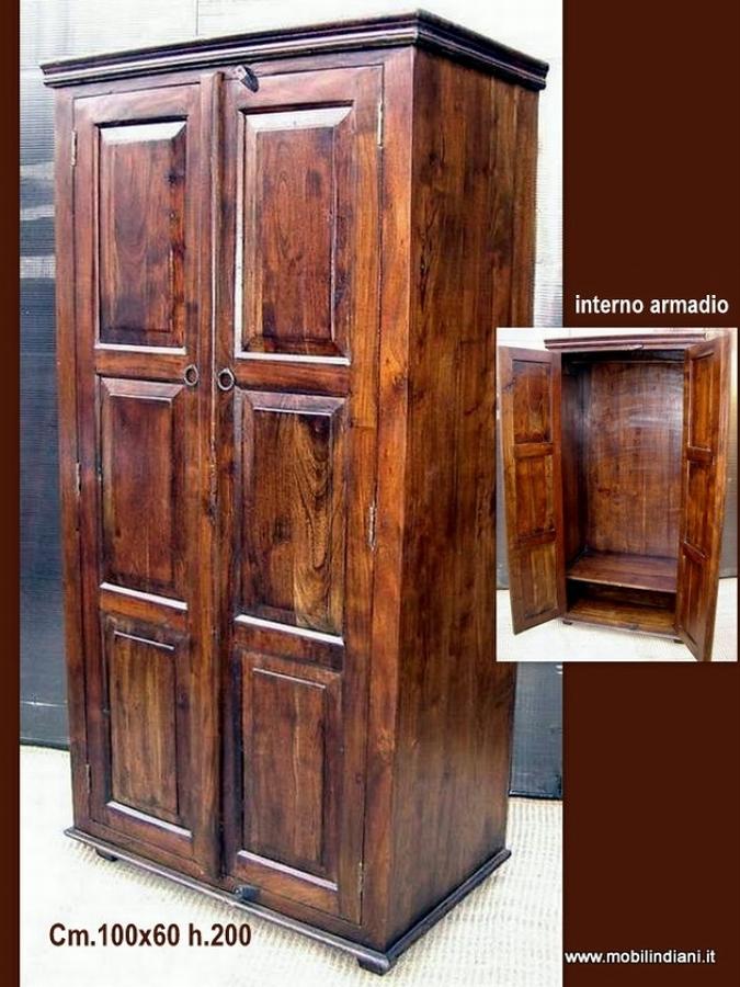 Foto armadio etnico in legno di mobili etnici 113631 for Negozi mobili usati trento