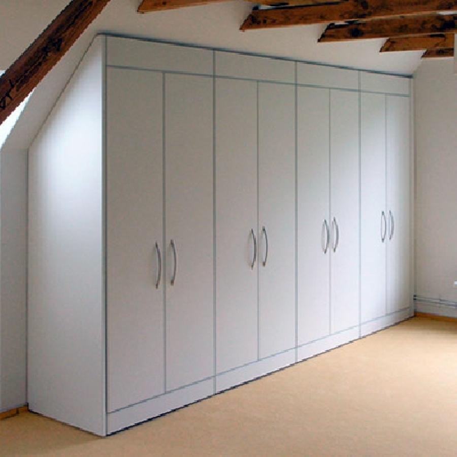 Foto armadio mansarda di falegnameria sifart 40946 - Cabine armadio in mansarda ...