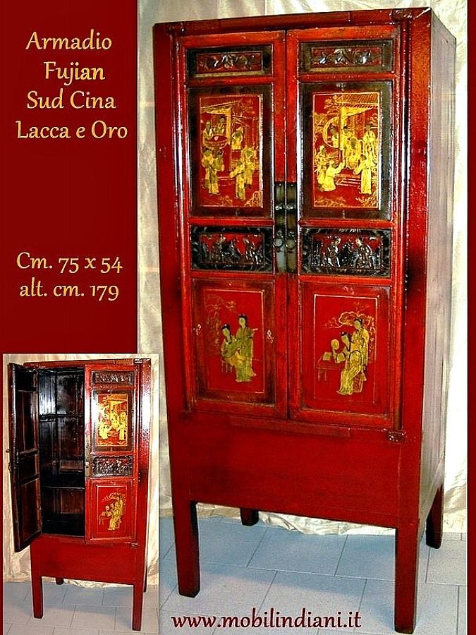 Foto armadio orientale dipinto di mobili etnici 113627 habitissimo - Mobili etnici prato ...