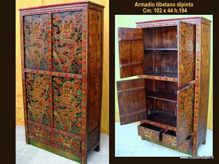 Foto armadio tibetano di mobili etnici 49582 habitissimo for Negozi mobili perugia arredamento