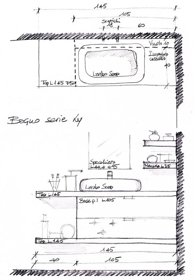 Foto arredo bagno personalizzato di for Arredo bagno rovigo