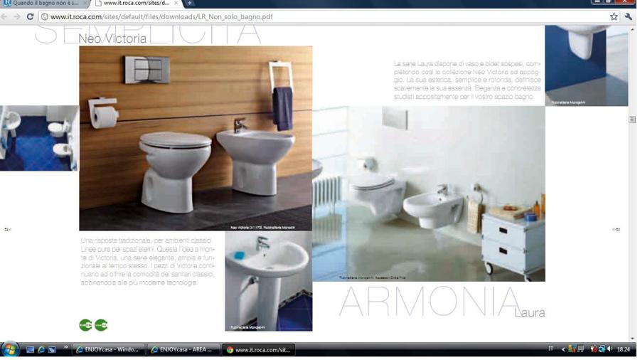 Foto articoli su di 41739 for Arredo bagno monopoli