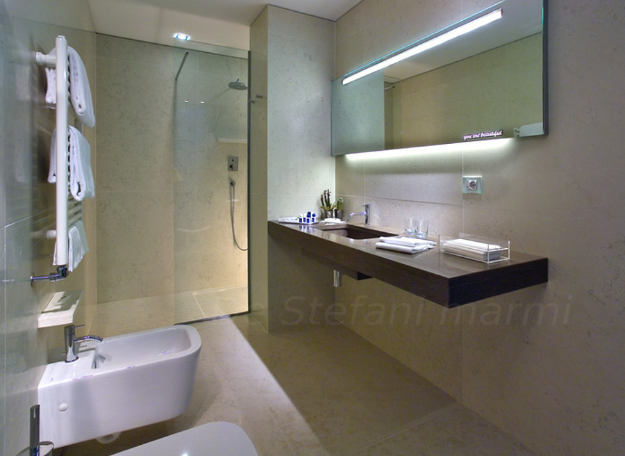foto bagni hotel bologna di de stefani marmi 197143