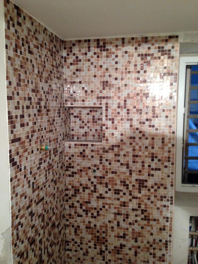 Bagno con mosaico