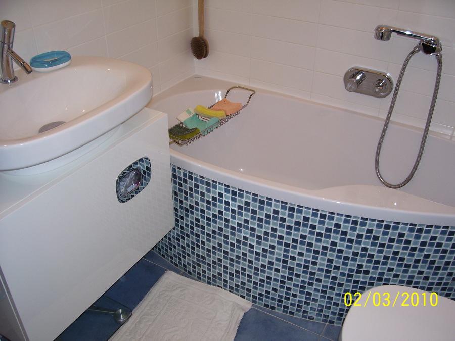 Foto bagno in mosaico di vitale edilizia generale 167871 habitissimo - Finto mosaico bagno ...