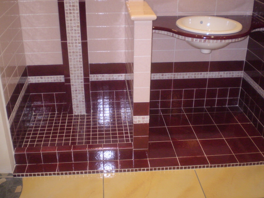 Foto bagno in muratura di layer costruzioni 249775 - Lavandini bagno in muratura ...