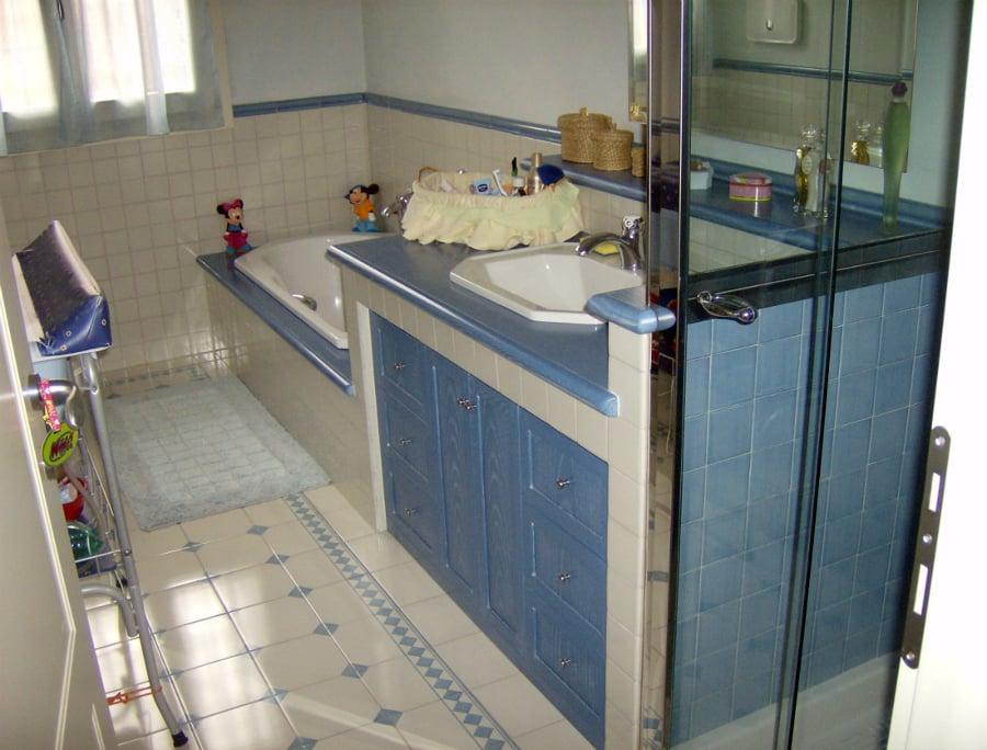 Foto bagno in muratura di edilmanfr 44206 habitissimo - Mobile bagno in muratura ...