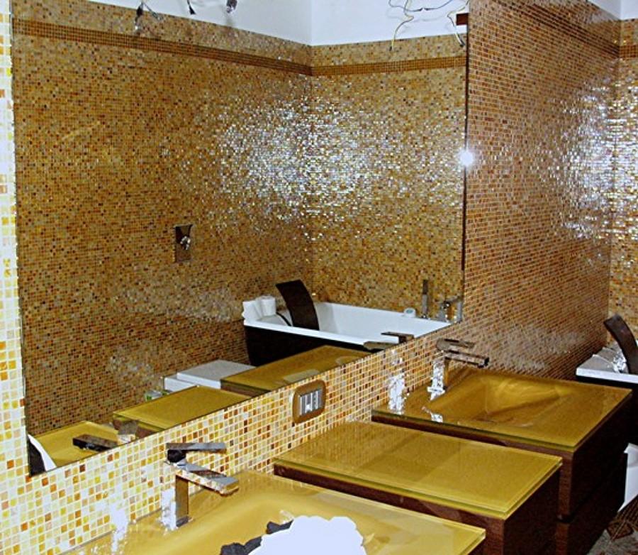 Foto bagno mosaico bisazza di progetti lavori 43738 habitissimo - Bisazza bagno prezzi ...