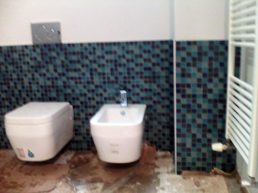 Foto bagno mosaico de edil 2000 156903 habitissimo - Finto mosaico bagno ...
