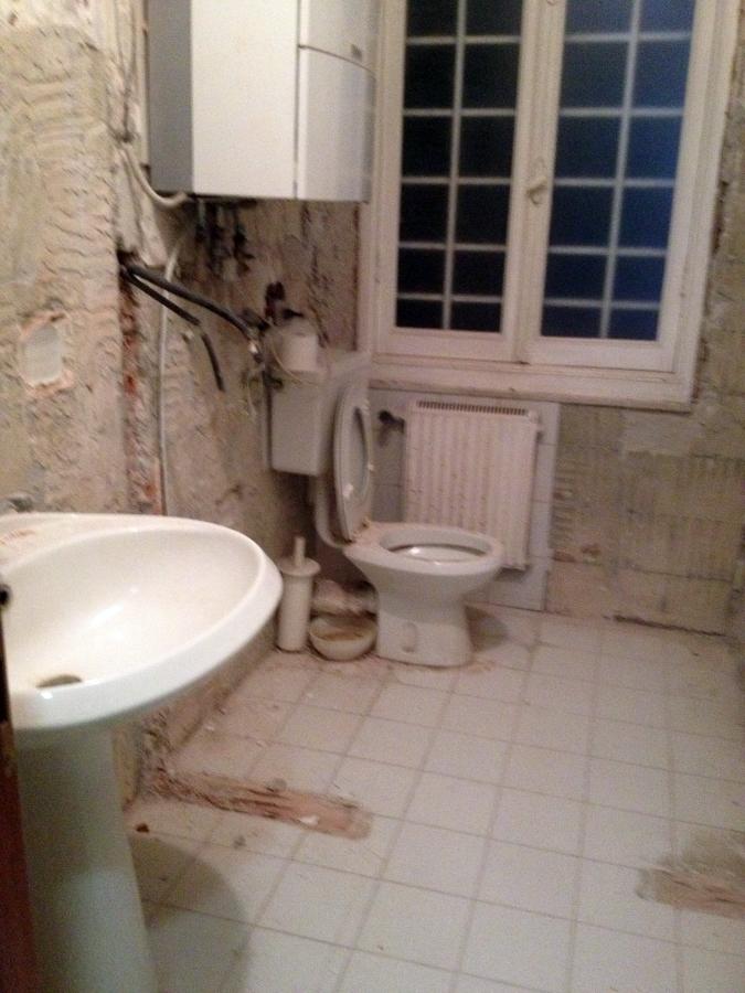 Bagno vecchio boiserie in ceramica per bagno - La parata bagno vignoni ...