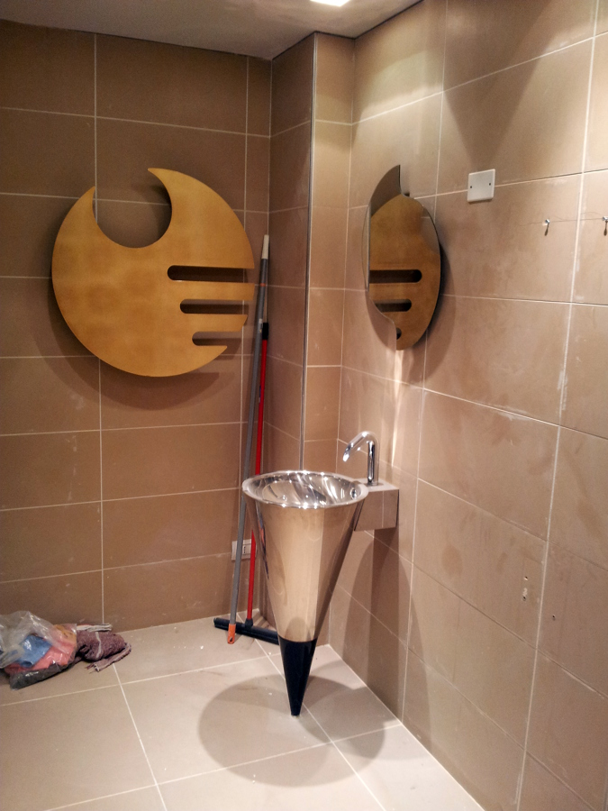 bagno villa alba