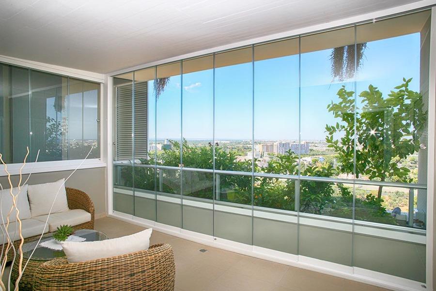 vetrata modello libera chiusura stanza