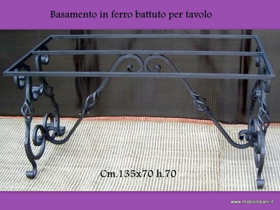 Foto: Base In Ferro Battuto Per Tavolo di Mobili Etnici #61418 ...