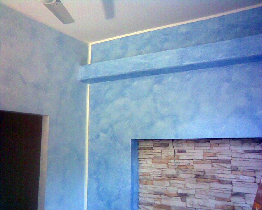 cabina armadio e contro parete con illuminazione