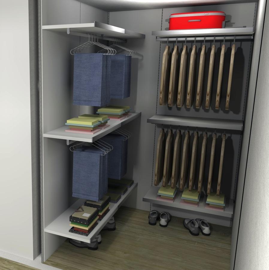 Foto cabina armadio di arredare oggi interior design for Arredare cabina armadio