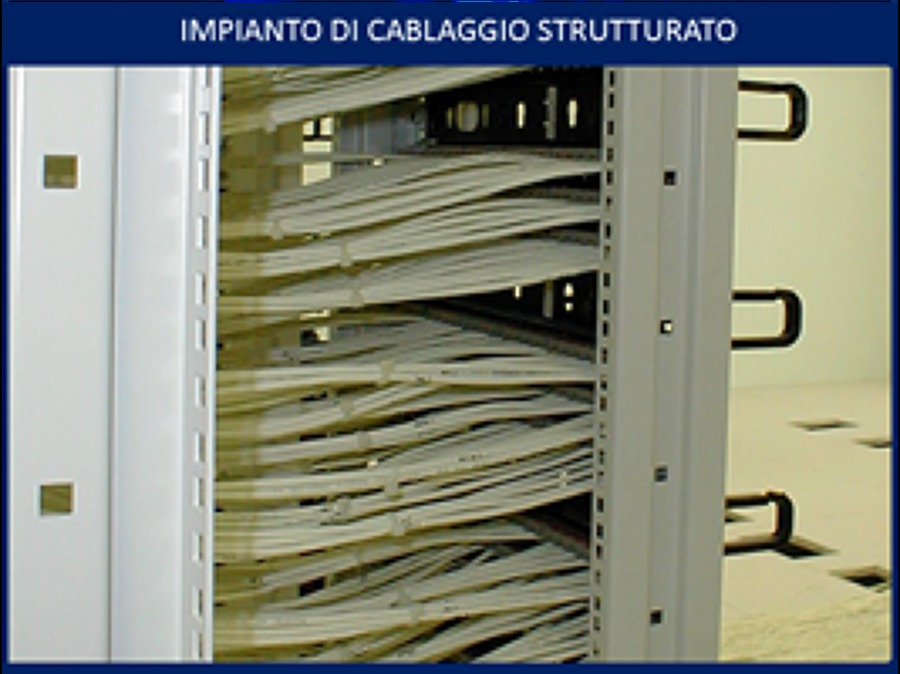 Schema Di Cablaggio Strutturato : Foto cablaggio strutturato rack di pm free g