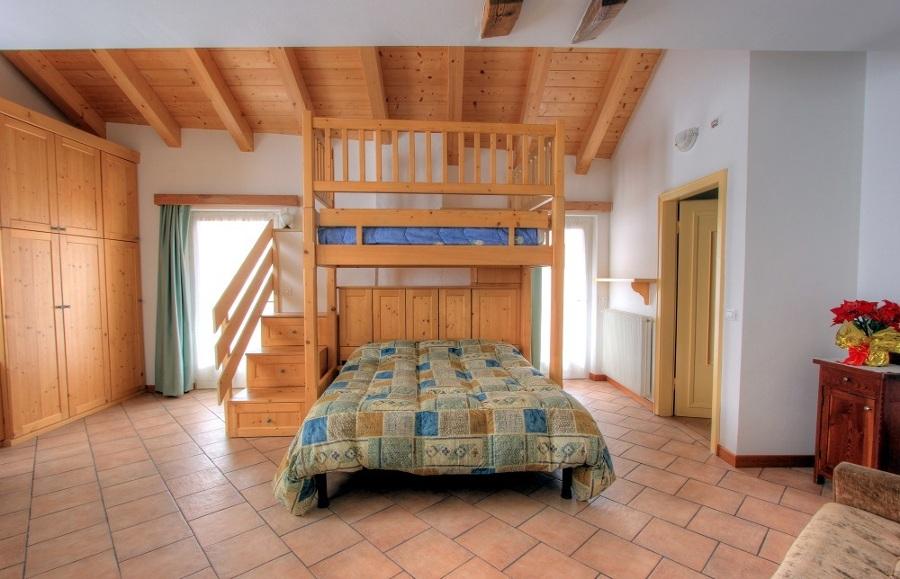 Foto camera con letto a castello di tavonatti gianni - Foto letto a castello ...