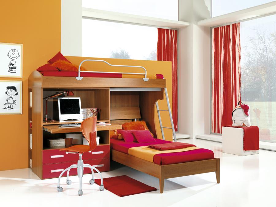 Stanze Da Sogno Per Ragazze Lilla : Camere da letto moderne bambini design casa creativa e mobili