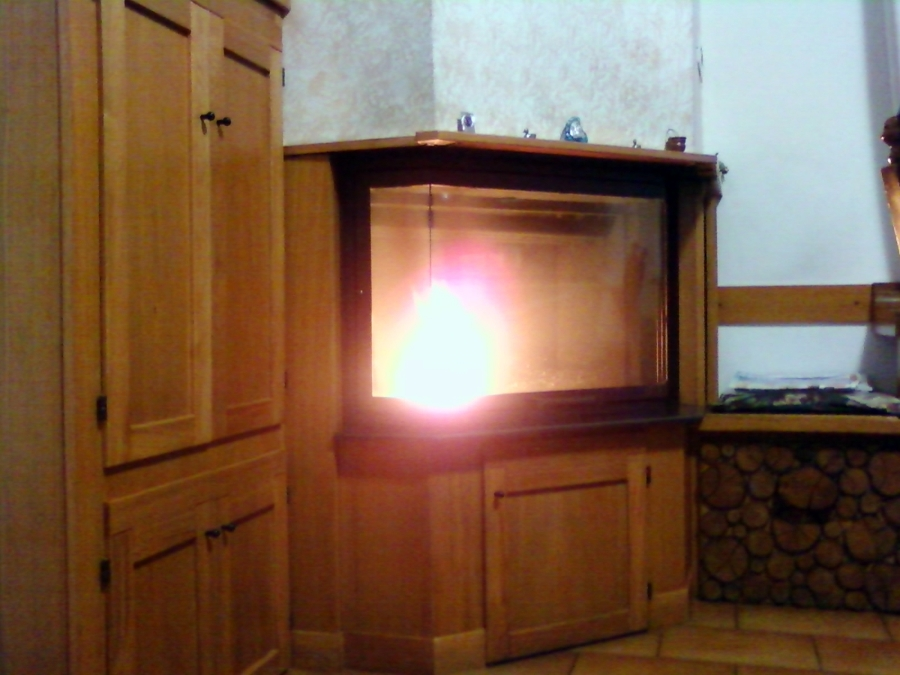 Foto caminetto pellet legna di pacioselli roberto 113328 for Foto pellet