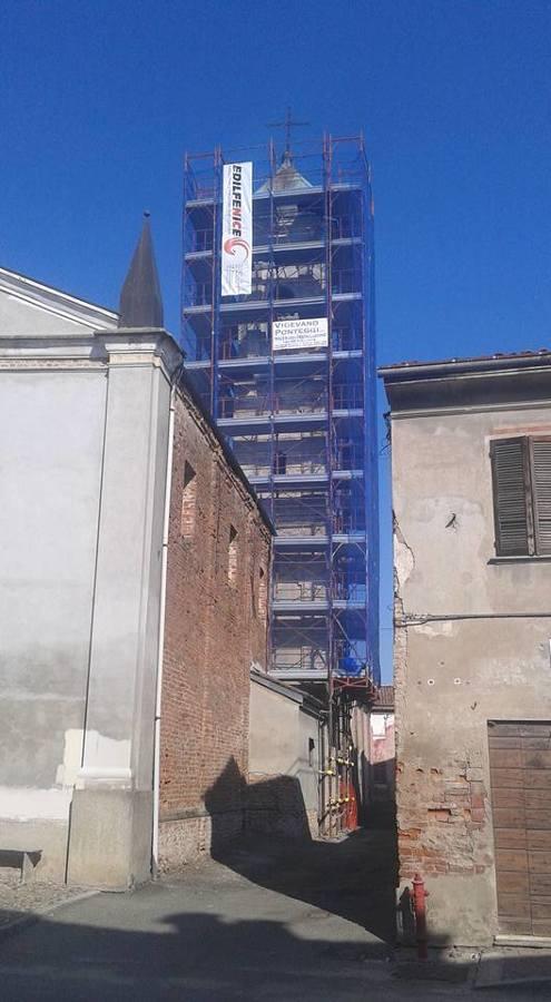 Ente Religioso – Restauro Campanile Chiesa di San Michele – Lomello (PV)