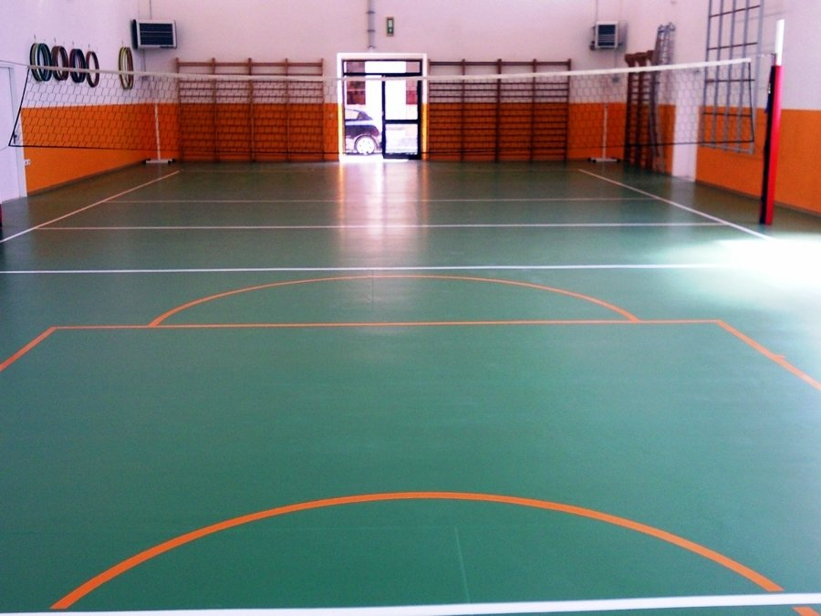 Foto campo pallavolo di m b m sport work s n c 74277 - Campi da pallavolo gratis stampabili ...