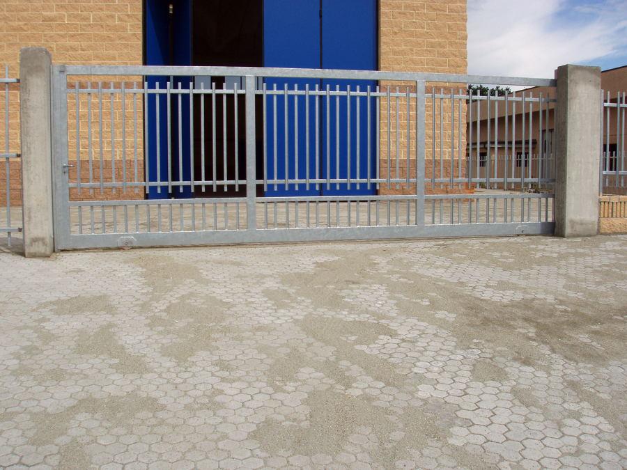 Foto: Cancello Scorrevole Zincato di Euromec Di Costo Isabella #153892 - Habitissimo