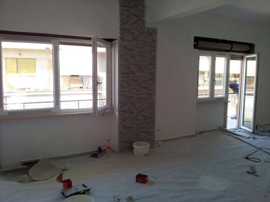 Foto cantiere finestre pvc bianco di h al installazioni - Finestre pvc venezia ...