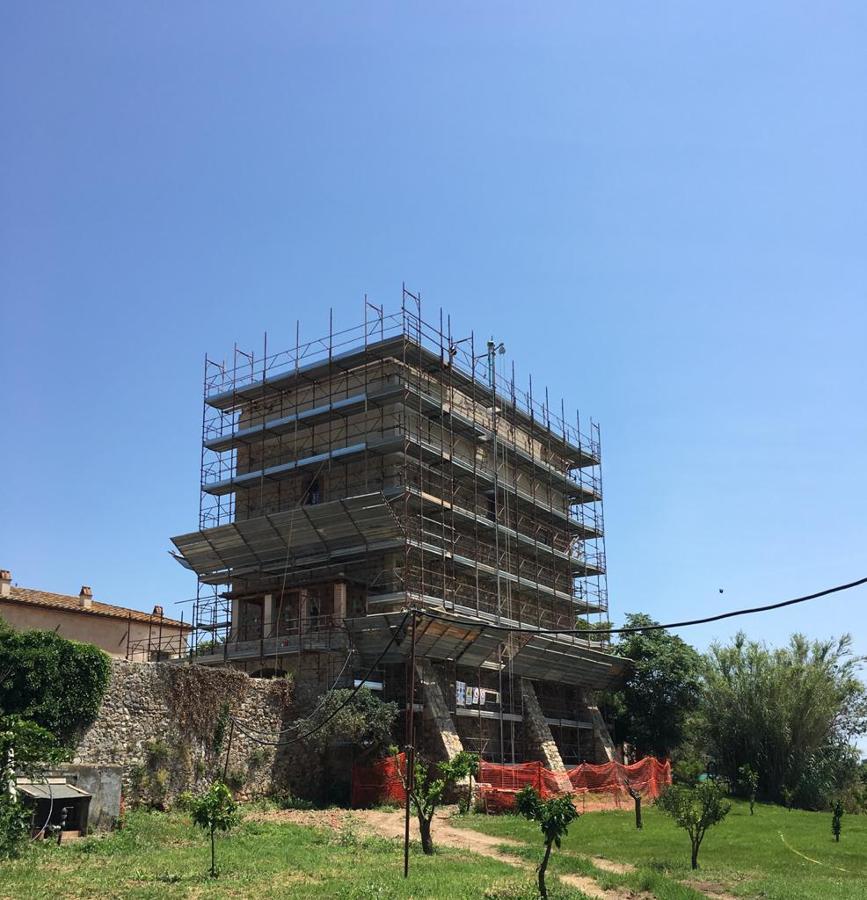 Restauro Torre Medievale Capalbio