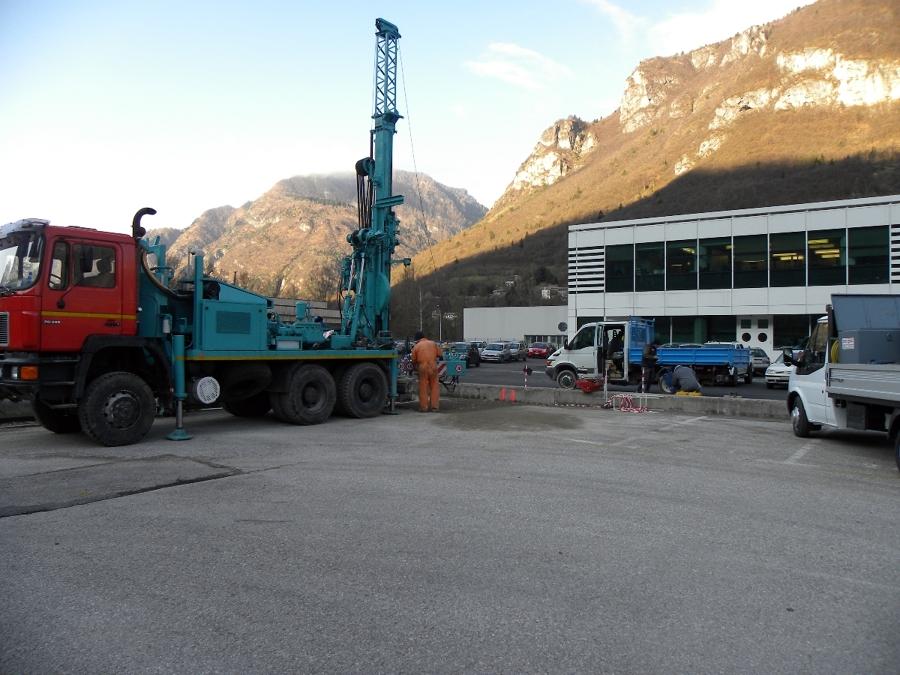 Caratterizzazione ambientale di un sito industriale a Longarone (BL)