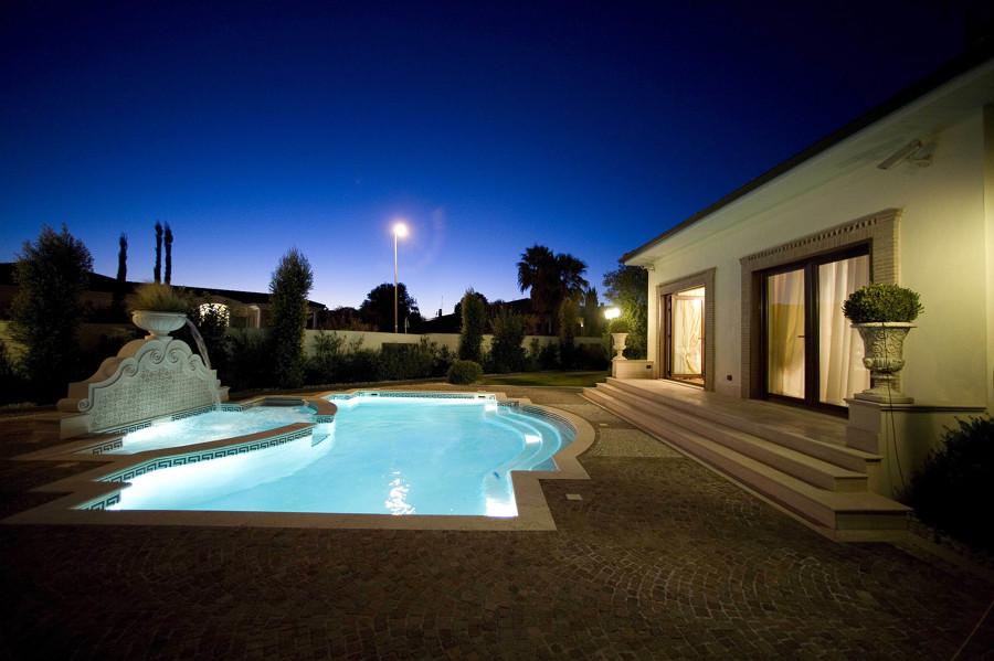 Foto casa con piscina di studio di architettura 120304 for Design di architettura online gratuito per la casa