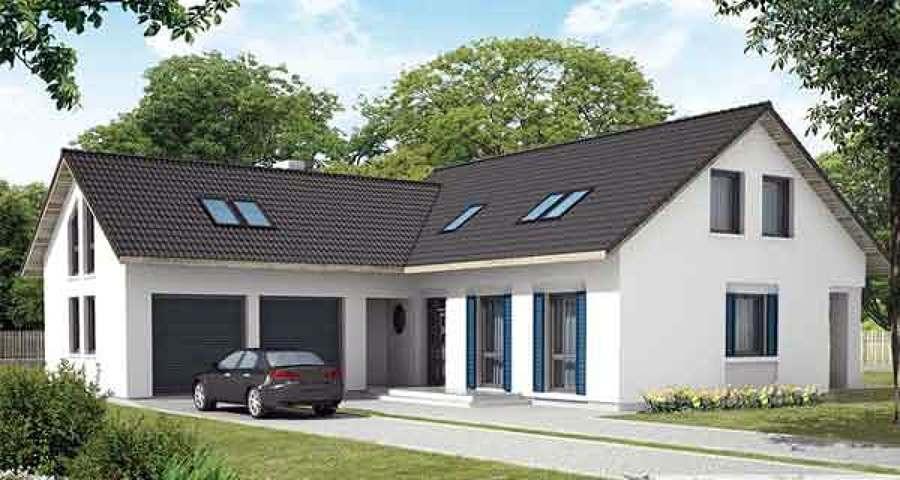Casa con struttura di legno