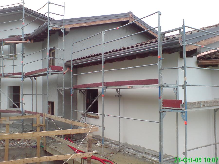 Foto casa di campagna in costruzione di architetto zerbo for Casa di costruzione personalizzata