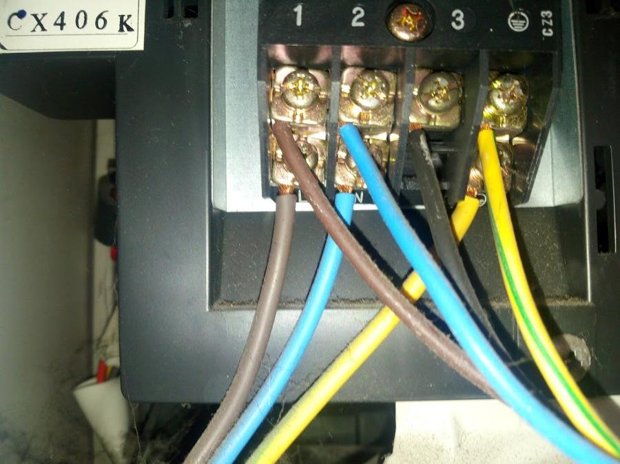 Schema Elettrico Unità Esterna Condizionatore : Foto morsettiera condizionatore di evol power srls