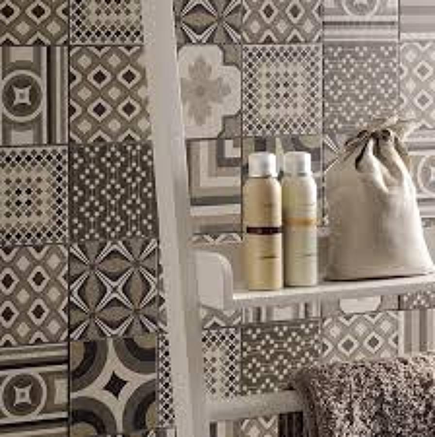Foto cementine ceramiche da rivestimento di superfici - Cementine bagno ...