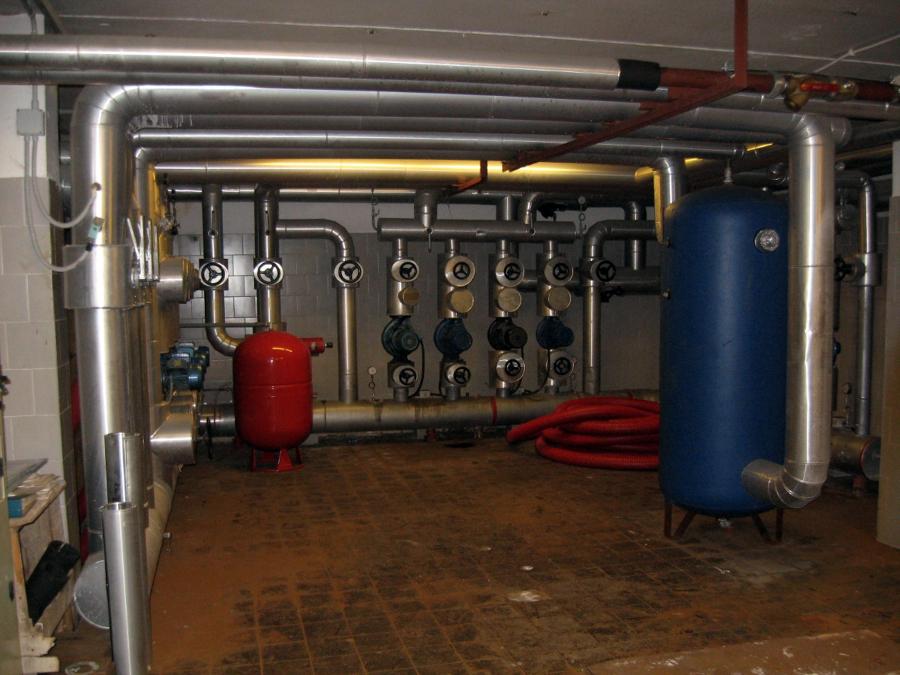 centrale di distribuzione fluidi