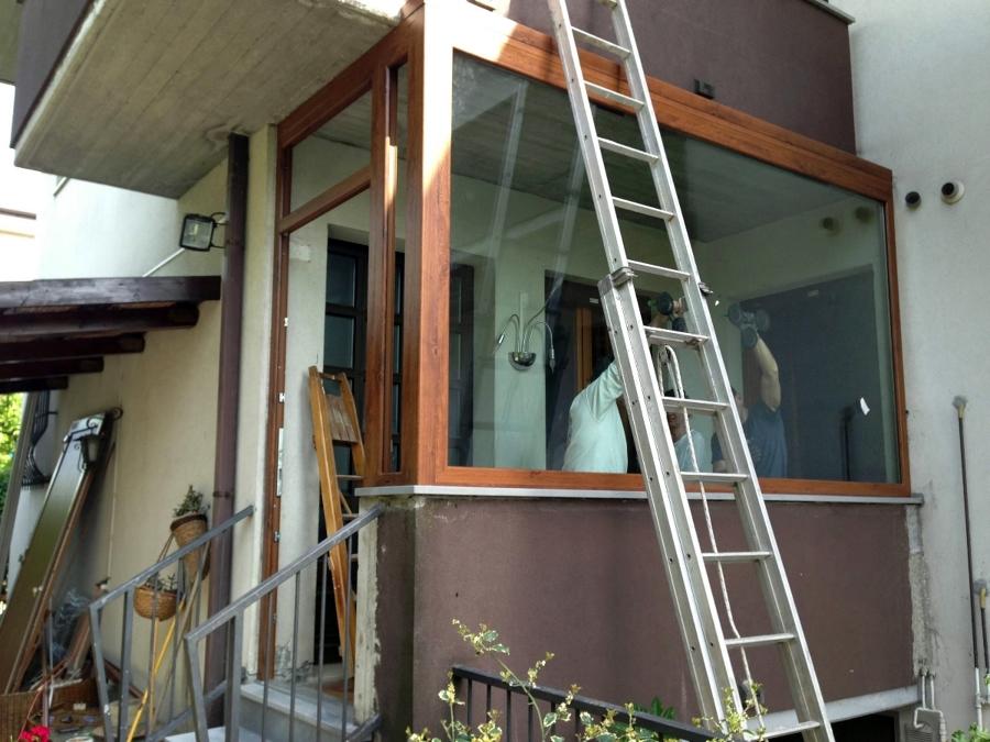 Foto chiusura balcone di ntg infissi 111297 habitissimo for Infissi balcone