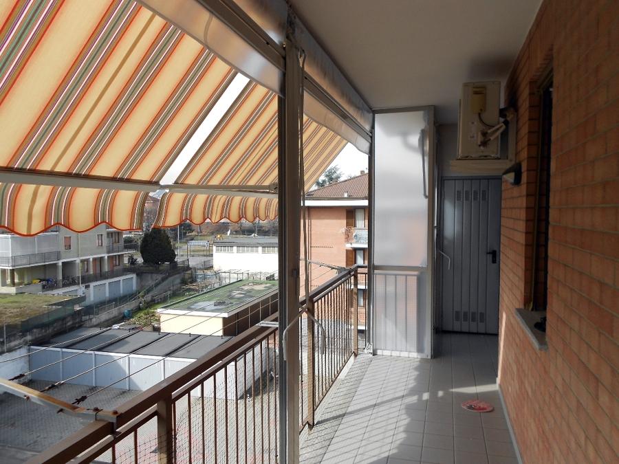 Foto: Chiusura Completa Balcone con Tenda Veranda doppio Rullo ...