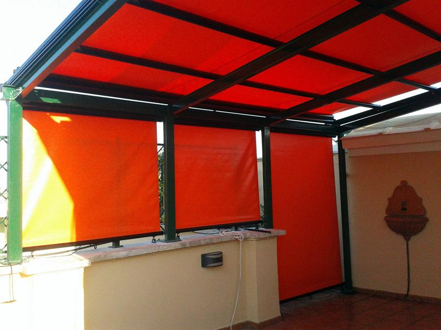 Foto: Chiusura Veranda De Tappezzeria Lo Russo #124947 - Habitissimo