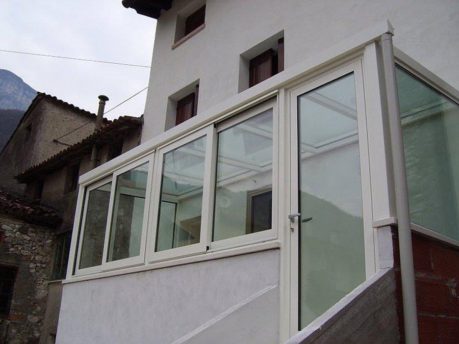 Foto chiusure per balconi di la lughese infissi 193749 for Infissi balcone