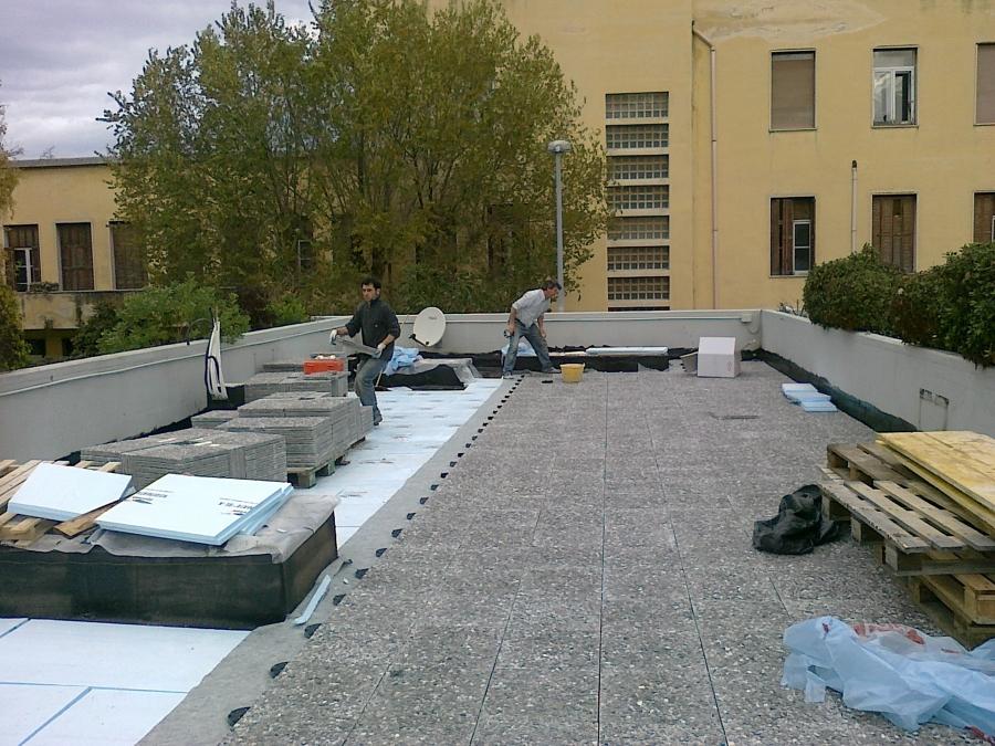 Foto: Coibentazione Terrazzo di D.G. System Edil Impianti S.r.l. ...