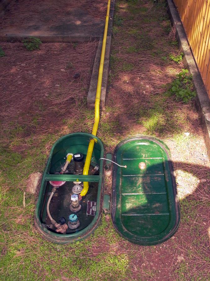 Foto collegamento serbatoio gpl interrato a vaporizzatore di carini impianti s r l 40026 - Bombolone gas interrato ...