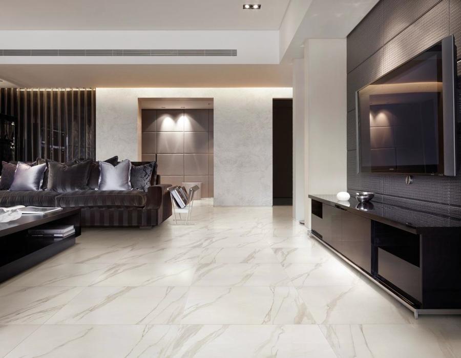 Foto collezione per pavimenti in gres porcellanato for Gres porcellanato effetto marmo lucido prezzi