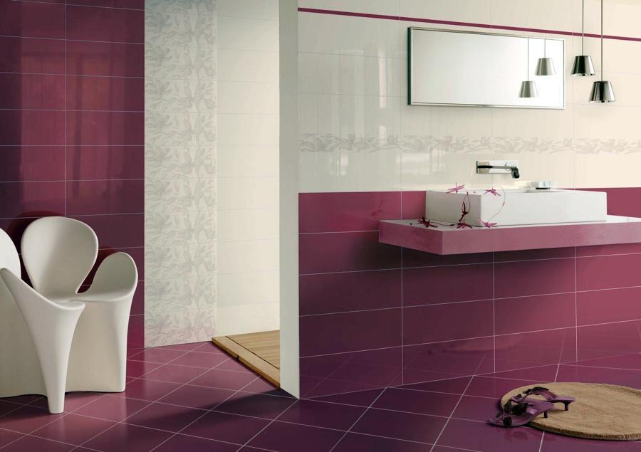 Foto collezione per rivestimenti bagni diva di ceramiche - Pitturare piastrelle bagno ...