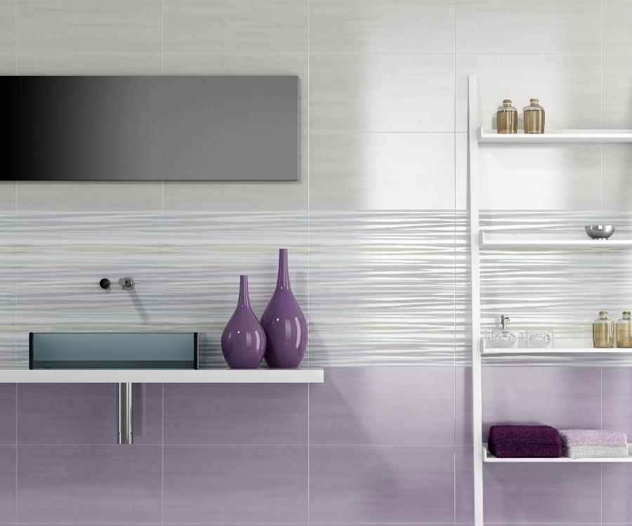 Foto collezione per rivestimenti bagni swing di ceramiche supergres 49302 habitissimo - Idee mattonelle bagno ...