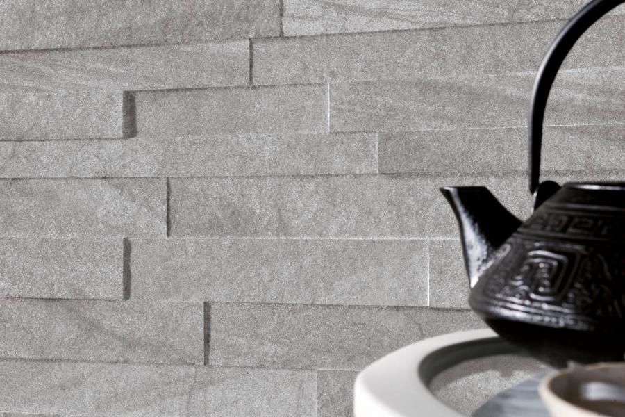 Riparazione dell appartamento casa piastrelle effetto pietra per